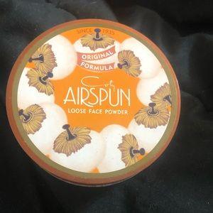 Airspun loose powder